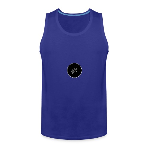 DJ BeatT BT Black logo - Men's Premium Tank