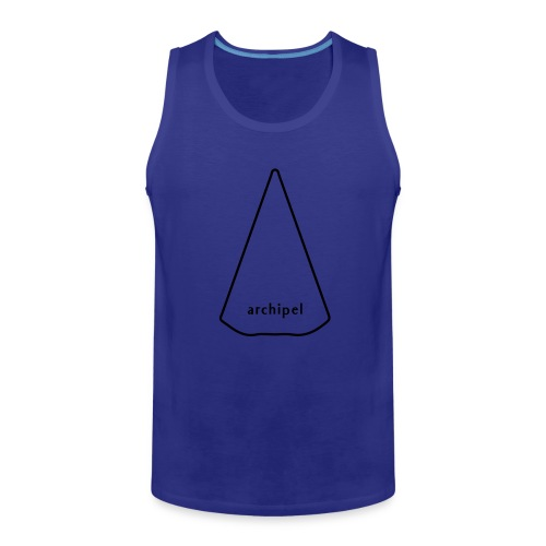 archipel_light grey - Men's Premium Tank