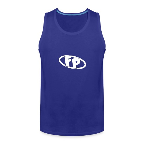 Secondary FRESHPOPCORN Logo - Men's Premium Tank