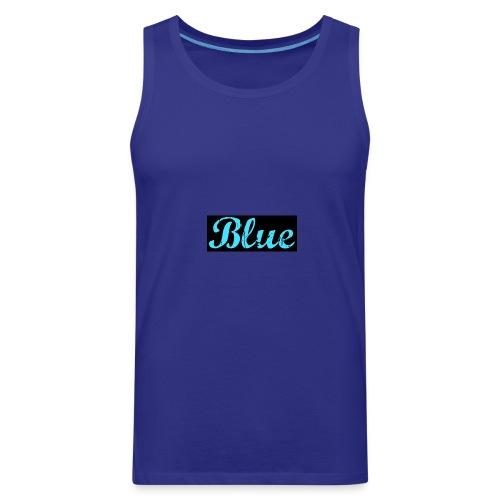 Blue - Men's Premium Tank