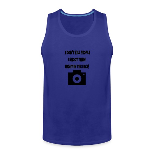 right in the face - Men's Premium Tank