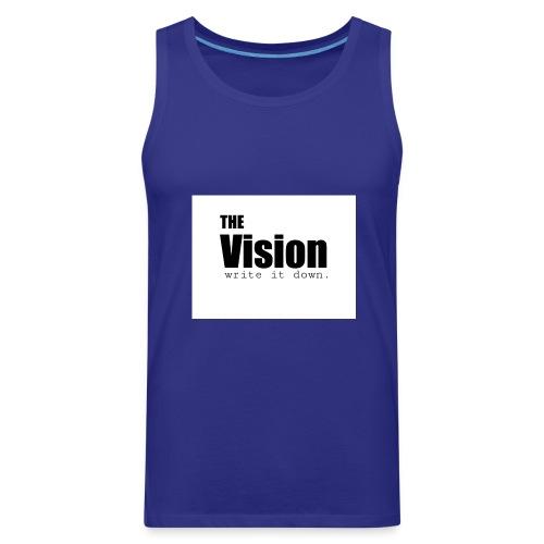 the_vision - Men's Premium Tank