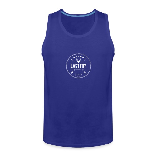 Deer Head Logo - Men's Premium Tank