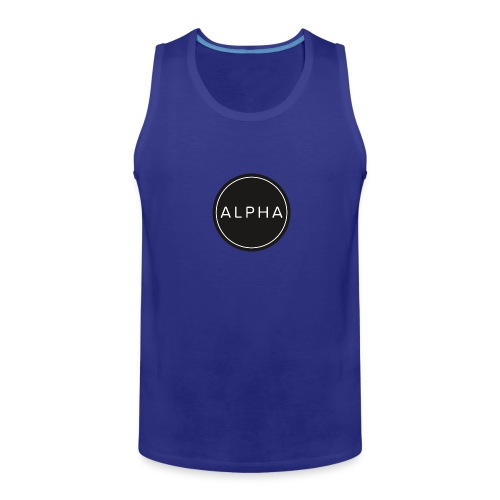 alpha team fitness - Men's Premium Tank