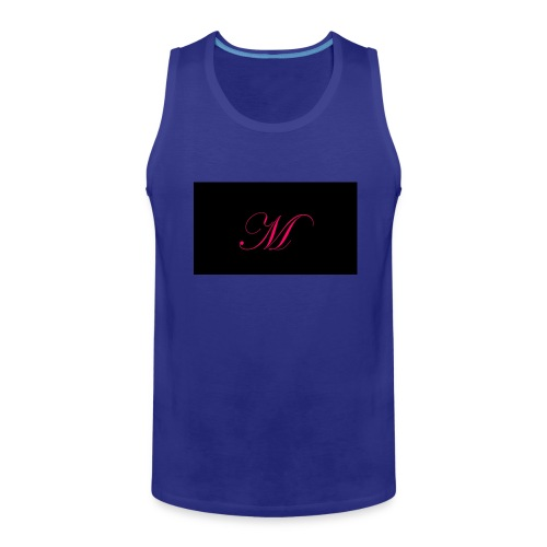 EDWARDIAN M MONOGRAM - Men's Premium Tank
