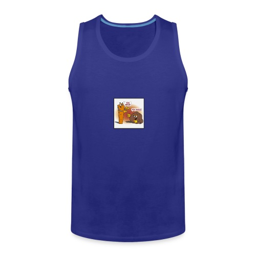 Rock And Ruler - Men's Premium Tank