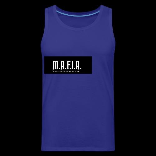 Classic Mafia Logo Black - Men's Premium Tank