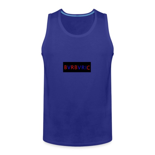 Red and blue Montage - Men's Premium Tank