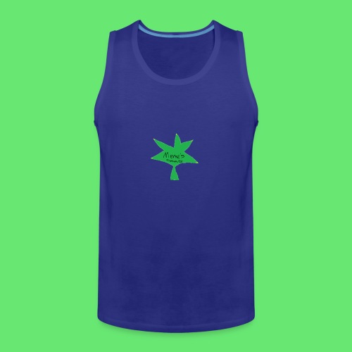 ESCLUSIVE!! 420 weed is coolio for kidlios SHIrT!1 - Men's Premium Tank