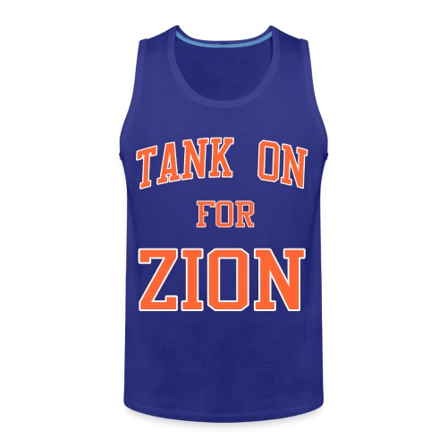 Tank On For Zion - Men's Premium Tank