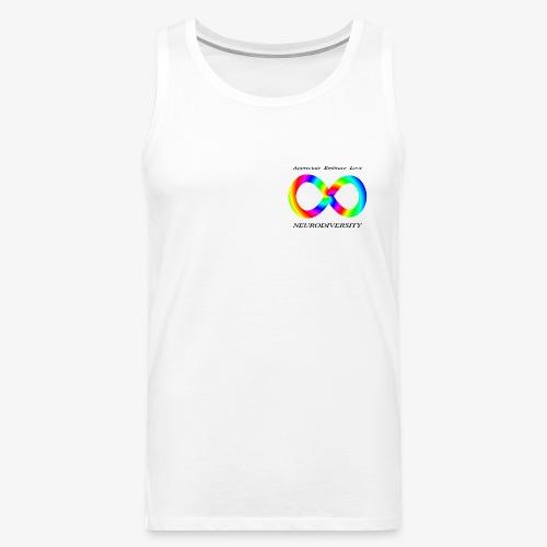 Embrace Neurodiversity with Swirl Rainbow - Men's Premium Tank