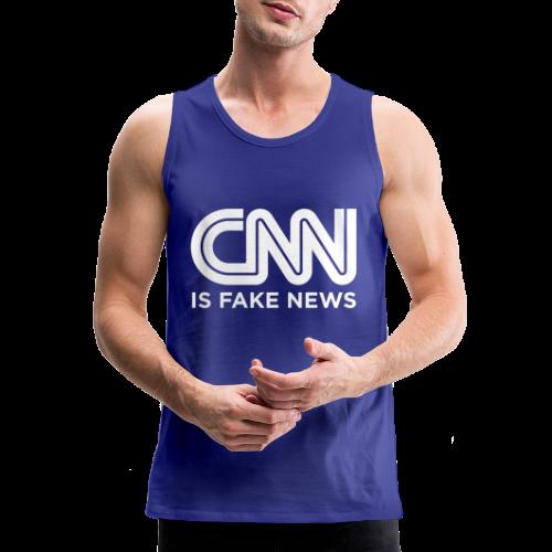 CNN Is Fake News - Men's Premium Tank