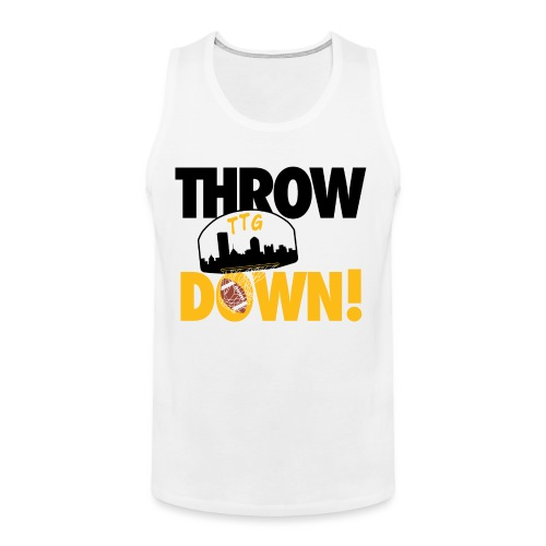 Throw it Down! (Turnover Dunk) - Men's Premium Tank