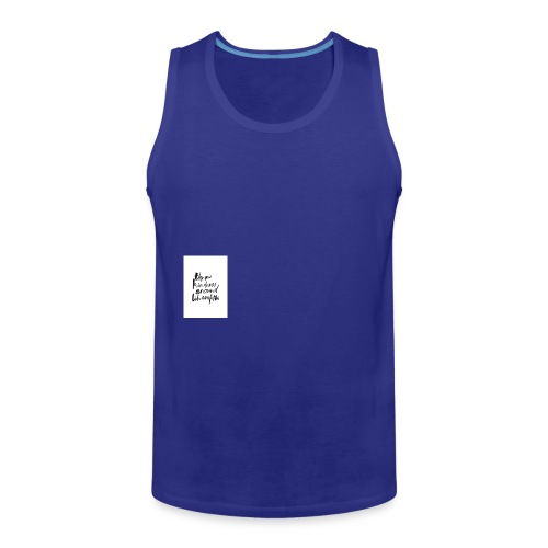 Throw kindness around - Men's Premium Tank