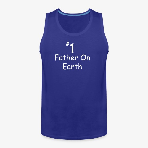 Father On Earth - Men's Premium Tank