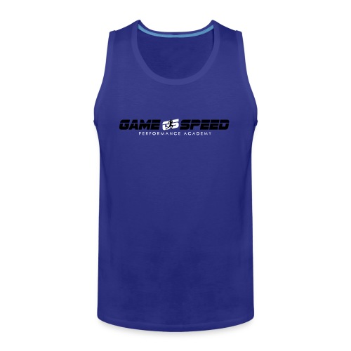 gamespeed logo 6inch gs - Men's Premium Tank