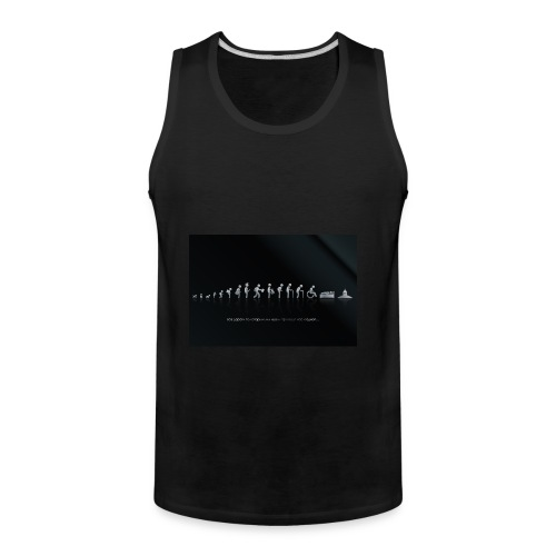 DIFFERENT STAGES OF HUMAN - Men's Premium Tank