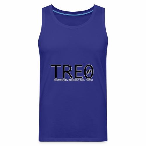 TRE0 Brand Glow White - Men's Premium Tank