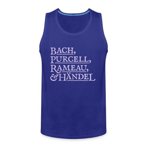 Fab Four of Early Music - Men's Premium Tank