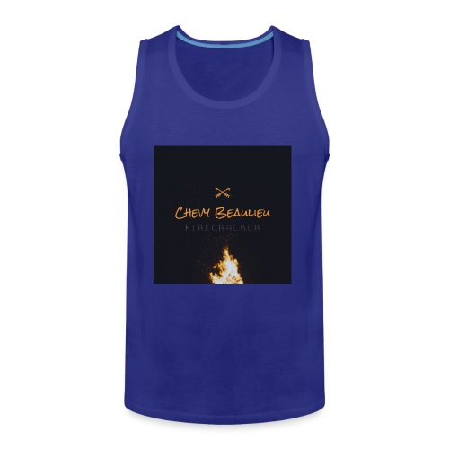 FIRECRACKER by Chevy Beaulieu - Men's Premium Tank