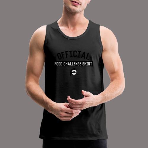 Official Food Challenge Shirt 1 - Men's Premium Tank