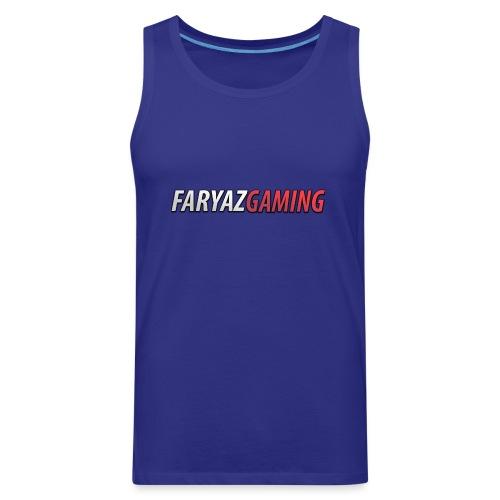 FaryazGaming Text - Men's Premium Tank