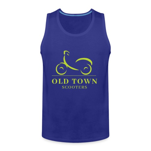 Old Town Scooters T-shirt - Men's Premium Tank