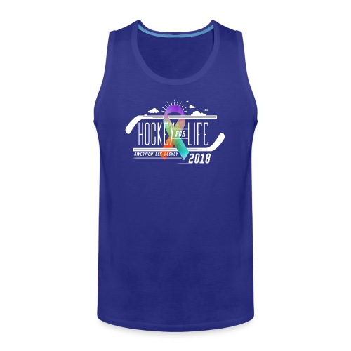 Hockey For Life 2018 - Men's Premium Tank