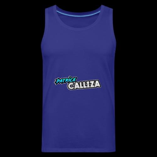 Patrick Calliza Official Logo - Men's Premium Tank