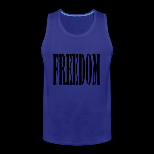 Freedom Logo - Men's Premium Tank