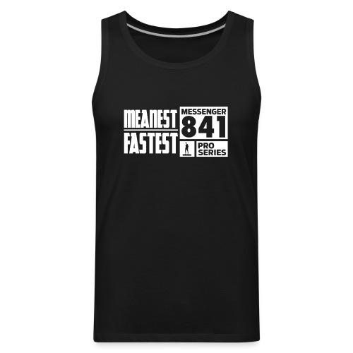 Messenger 841 Meanest and Fastest Crew Sweatshirt - Men's Premium Tank