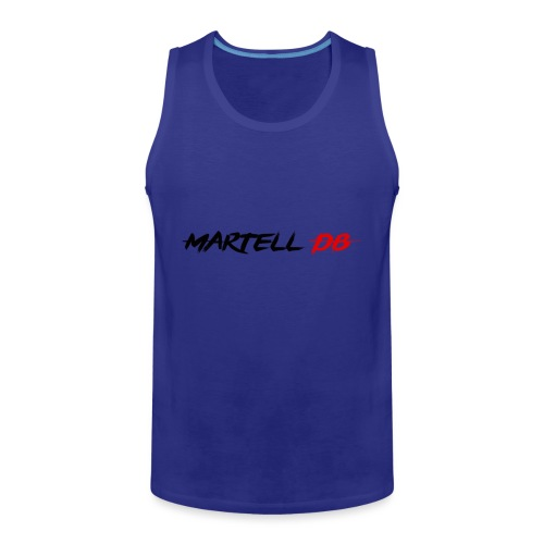 Martell DB Secondary Logo - Men's Premium Tank