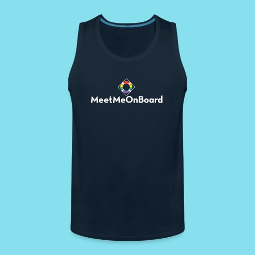 MMOB_logo_vert_whitetype - Men's Premium Tank
