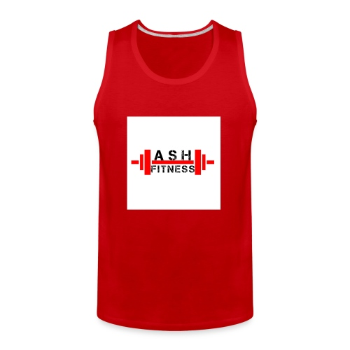 ASH FITNESS MUSCLE ACCESSORIES - Men's Premium Tank