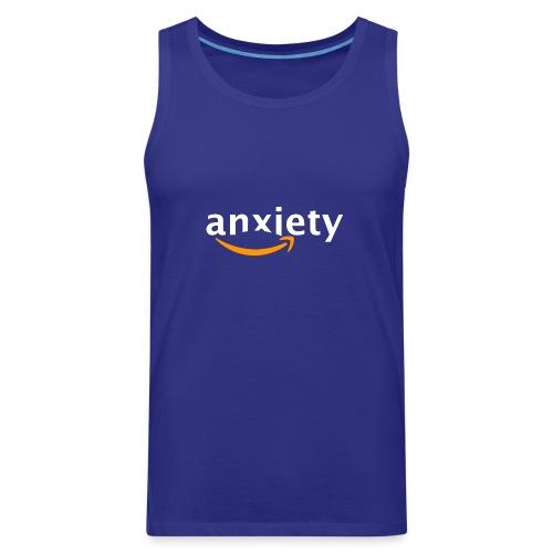 anxiety amazon logo - Men's Premium Tank