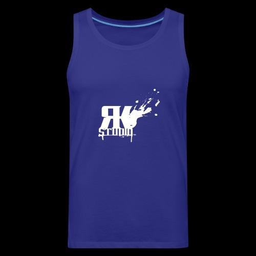 RKStudio White Logo Version - Men's Premium Tank