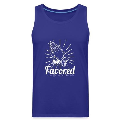 Favored - Alt. Design (White Letters) - Men's Premium Tank