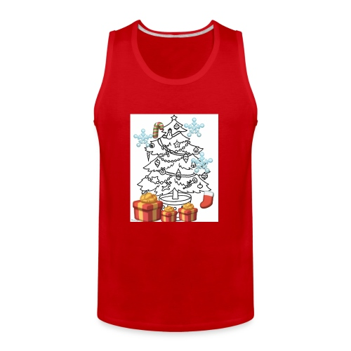 Christmas is here!! - Men's Premium Tank