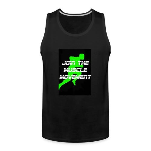 muscle movement - Men's Premium Tank