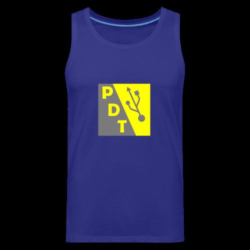 PDT Logo - Men's Premium Tank