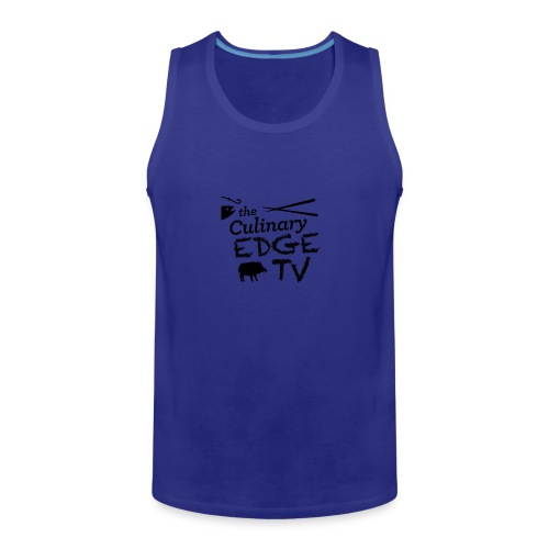 CETV Black Signature - Men's Premium Tank