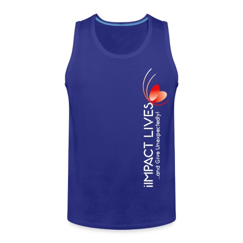 iImpact Lives and Give Unexpectedly! - Men's Premium Tank