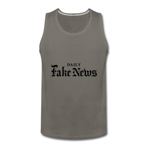 DAILY Fake News - Men's Premium Tank