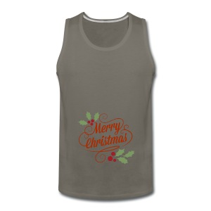 Merry Christmas - Men's Premium Tank