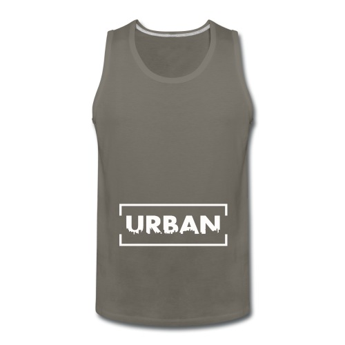 Urban City Wht - Men's Premium Tank