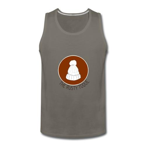 The Rusty Toque Brown Logo 2 - Men's Premium Tank