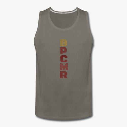 Vertical BPCMR Binary Logo - Men's Premium Tank