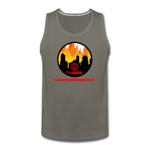 OG foBIDS red logo - Men's Premium Tank