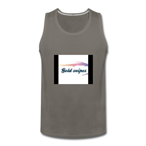 Kids Gold snipes Tshirt - Men's Premium Tank