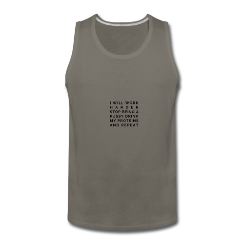The White Gym Pledge - Men's Premium Tank